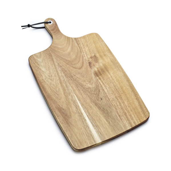 Large Acacia Wood Board, Engraved Chopping board, Branded Board