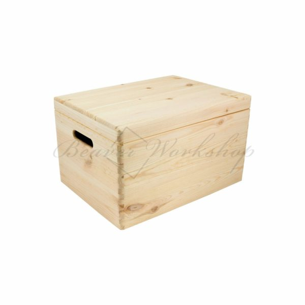 Large wooden box, engraved wooden box (2)