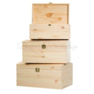 Lidded Pirate Chest, wooden boxes, Engraved Boxes