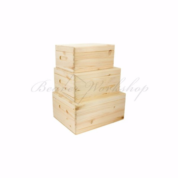 Luxury Pine wooden box, wooden boxes to decorate (2)