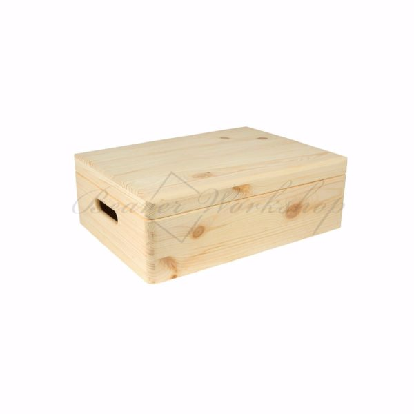 Medium wooden box, keepsake box (2)