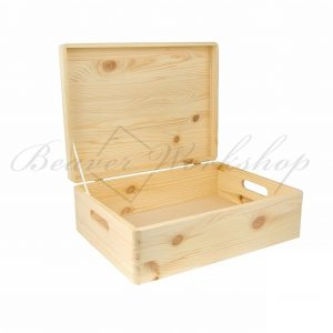 Medium wooden box, keepsake box (2)Medium wooden box, keepsake box (2)