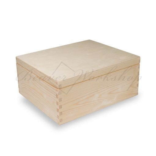 Plain Keepsake Box, Box for laser engraving (2)