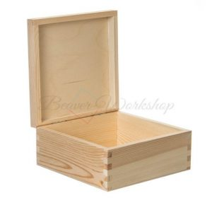 Square Keepsake Box