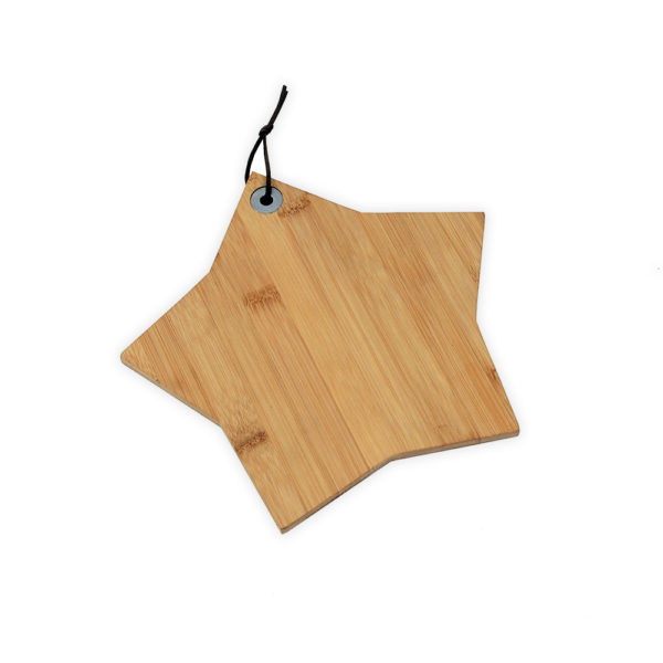 Star shaped board, laser engraved board, personalised chopping boards