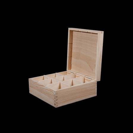 Tea box 9 compartments