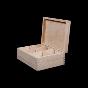 Tea box with lid