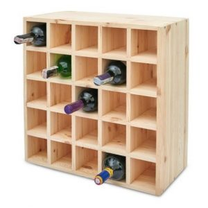 Wine Racking, Large bottle racking, racking system, wooden racking