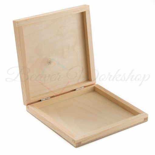 Wooden Box for prints, personalised print box