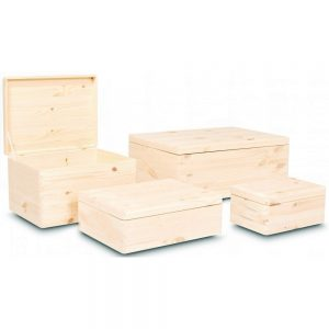 Wooden Boxes no handles