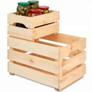 Wooden Crates, wooden storage box