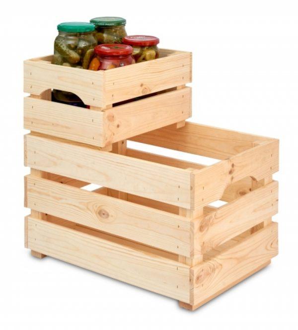 Wooden Crates, wooden storage box