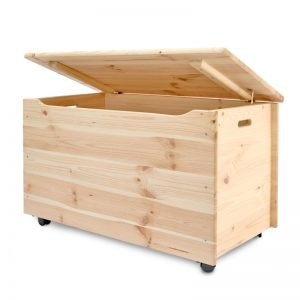 Wooden Toy Box, Large toy Box