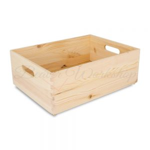 Wooden display boxes, crates, shop display boxes
