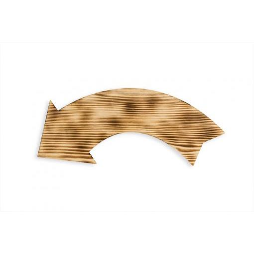Wooden sign – Arrow