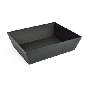 Large Black Card Tray