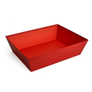 Large Red Card Tray
