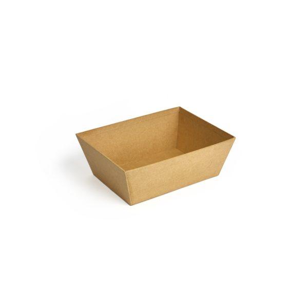 Small Natural Card Tray, Natural Cardboard tray, Food display