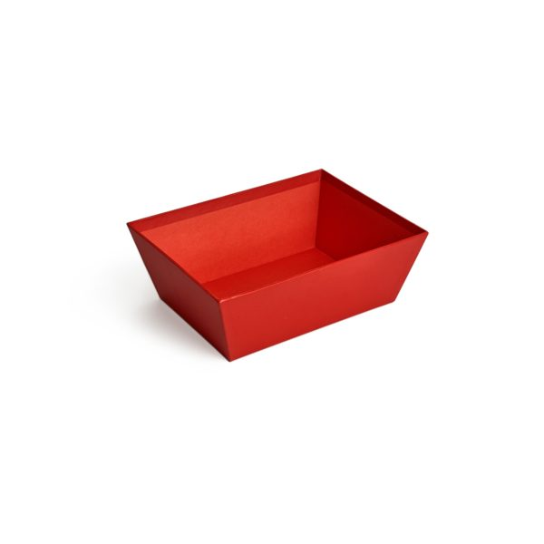 Small Red Card Tray